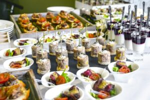 Cateringowe must-have catering dania